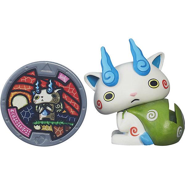 Hasbro Игровой набор Yo-Kai Watch Komasan с медалью, 7 см