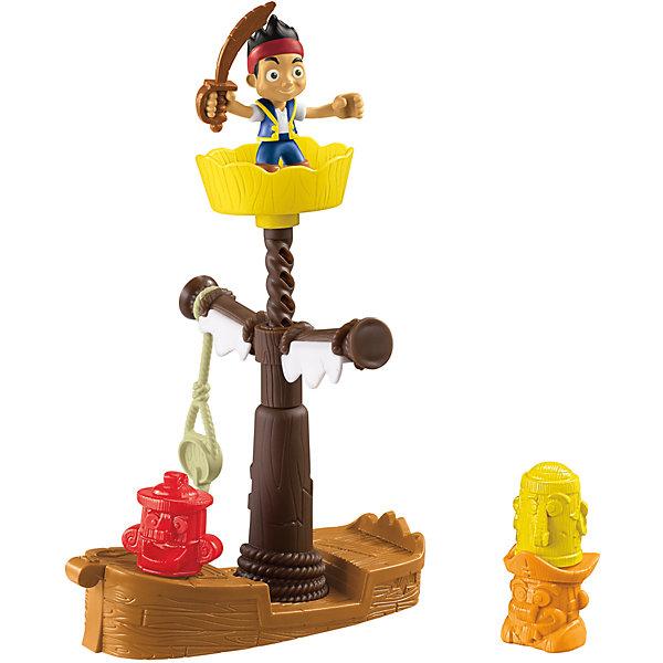 Купить Игровой набор Fisher Price Джейк и пираты Нетландии Корабль-обучающая станция, Mattel, Китай, Унисекс