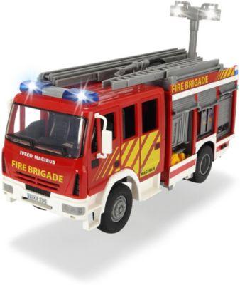 Пожарная машина Dickie Toys с водой, 30 см, артикул:5071312 - Транспорт