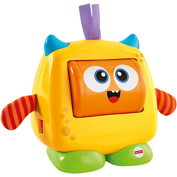 Mattel Развивающая игрушка Fisher-Price «Добрый монстрик» fisher price infant toys развивающая игрушка мини монстрик fhf83 fhf82
