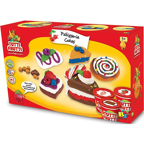 цены Tutti Frutti Набор массы для лепки Тортики