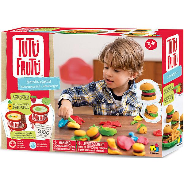 Набор массы для лепки ГамбургерыНаборы для лепки игровые<br>Характеристики товара:<br><br>• упаковка: коробка<br>• комплектация: масса для лепки, инструменты, посуда и красочная инструкция<br>• масса приятно пахнет<br>• цветов: 3<br>• материал: мука, соль, вода<br>• возраст: от трех лет<br>• развивающая<br>• страна бренда: Канада<br>• страна производства: Канада<br><br>Лепка - отличный способ занять ребенка. Это не только занимательно, но и очень полезно! С помощью такого набора для творчества ребенок сможет сам сделать еду с помощью инструментов, а дальше - делать более сложные предметы. Эта масса для лепки - безопасный материал, который приятно пахнет, она сделана из муки, воды и соли. В комплекте - масса для лепки и инструменты.<br>Такое занятие помогает детям развивать многие важные навыки и способности: они тренируют внимание, память, логику, мышление, мелкую моторику, а также усидчивость и аккуратность. Изделие производится из качественных сертифицированных материалов, безопасных даже для самых маленьких.<br><br>Набор массы для лепки Гамбургеры можно купить в нашем интернет-магазине.<br>Ширина мм: 215; Глубина мм: 77; Высота мм: 300; Вес г: 546; Возраст от месяцев: 36; Возраст до месяцев: 108; Пол: Унисекс; Возраст: Детский; SKU: 5075322;