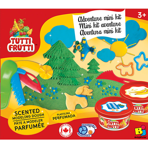 Tutti Frutti Животные - Набор массы для лепки насос погружной зубр нпг м1 550