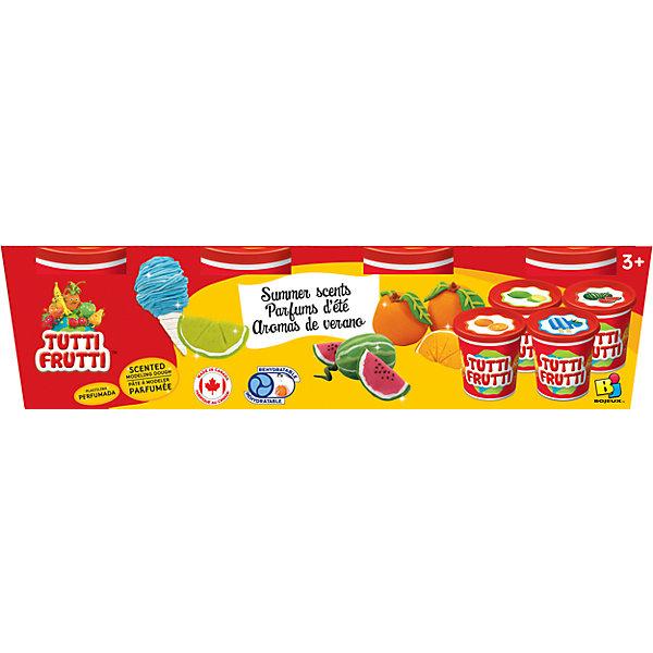 Tutti Frutti Набор ароматизированной массы для лепки(4х128G) всё для лепки playgo набор 8636