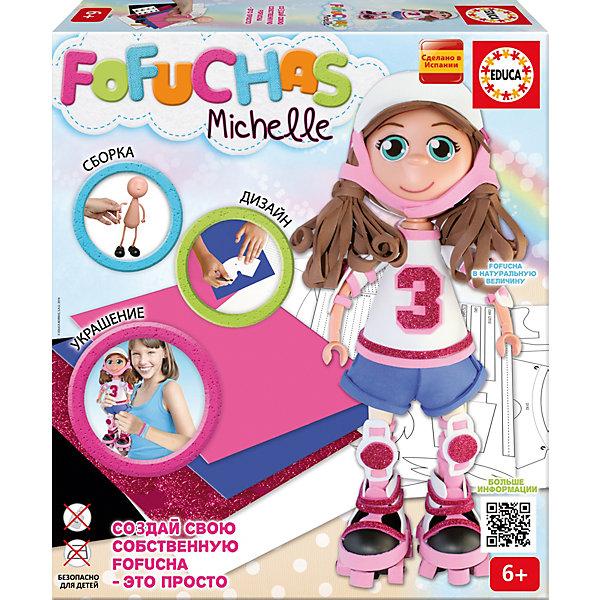 Фофуча Мишель - набор для творчества в виде куклыНаборы для декора<br><br>Ширина мм: 335; Глубина мм: 72; Высота мм: 295; Вес г: 650; Возраст от месяцев: 72; Возраст до месяцев: 108; Пол: Унисекс; Возраст: Детский; SKU: 5075337;
