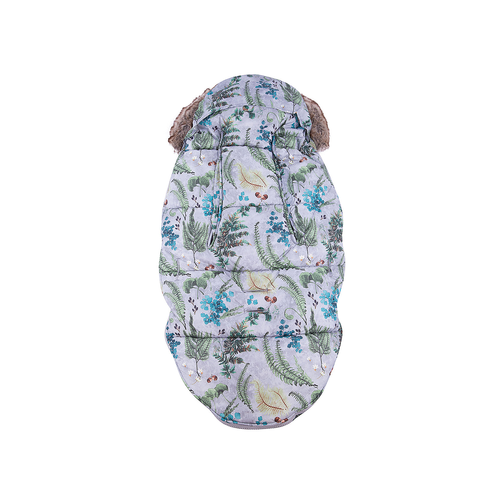 Конверт зимний с опушкой в коляску Forest Flora, Elodie Details