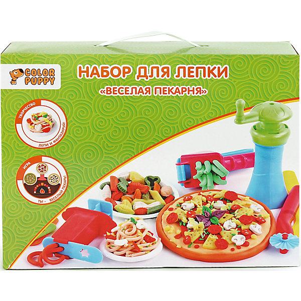 Color Puppy Набор для лепки Веселая пекарня тесто 250 г