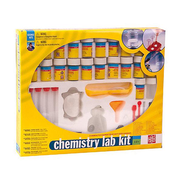 Химическая лаборатория набор EDU-TOYSХимия и физика<br>Характеристики товара:<br><br>• возраст: от 10 лет;<br>• размер упаковки: 42х6х35 см;<br>• вес упаковки: 1,2 кг.;<br>• страна производитель: Гонконг.<br><br>Химический набор Лаборатория содержит необходимый комплект приборов и реактивов, позволяющий провести разнообразные химические опыты в безопасных домашних условиях. Это настоящая домашняя лаборатория, где юные химики с удовольствием будут проводить эксперименты. С помощью материалов и инструментов для исследований можно провести 169 опытов. Набор поможет ребенку проявить интерес к такой сложной науке как химия. <br><br>В комплекте:<br>• химические реактивы- 22 шт.<br>• лакмусовые бумажки- 8 шт.<br>• мензурки- 2 шт.<br>• пробирки- 4 шт.<br>• стойка и держатель для пробирок<br>• пробки простые и с отверстиями (2+3 шт).<br>• стеклянные и резиновые трубочки (3+1 шт.)<br>• ершик<br>• спиртовка<br>• ложки- 2 шт.<br>• фильтр- 6 шт.<br>• воронка<br>• защитные очки<br>• инструкция с подробным описанием опытов.<br><br>Химическая лаборатория набор EDU-TOYS можно купить в нашем интернет-магазине.<br>Ширина мм: 420; Глубина мм: 66; Высота мм: 355; Вес г: 1400; Возраст от месяцев: 96; Возраст до месяцев: 192; Пол: Унисекс; Возраст: Детский; SKU: 5082913;