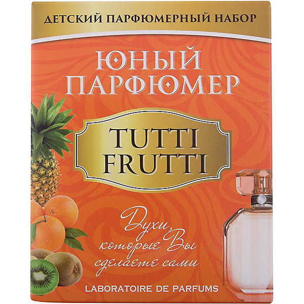 Каррас Набор Юный Парфюмер (мини) TUTTI FRUTTI каррас каррас набор юный парфюмер восточные ароматы