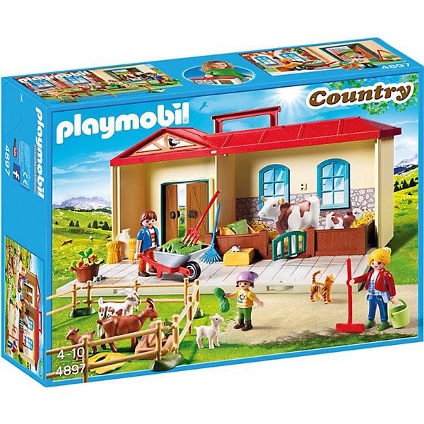 PLAYMOBIL® Конструктор Playmobil Country Возьми с собой, 39 деталей playmobil игровой набор возьми с собой рыцарь с катапультой