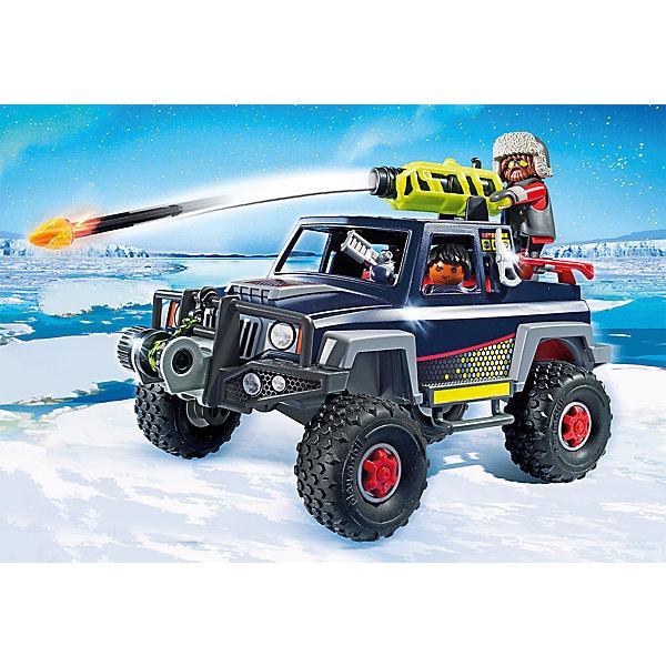 PLAYMOBIL® Конструктор Playmobil Ледяной пират со снежным грузовиком, 8 деталей