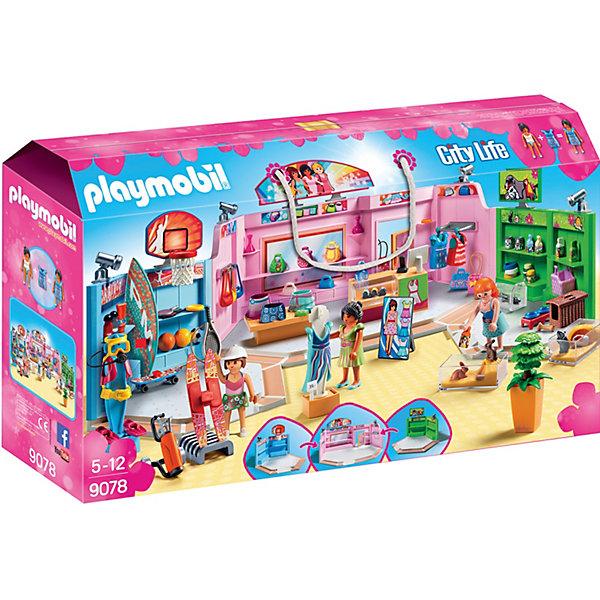 PLAYMOBIL® Конструктор Playmobil Шопинг Торговый центр набор с элементами конструктора playmobil city life 9078 шопинг торговый центр