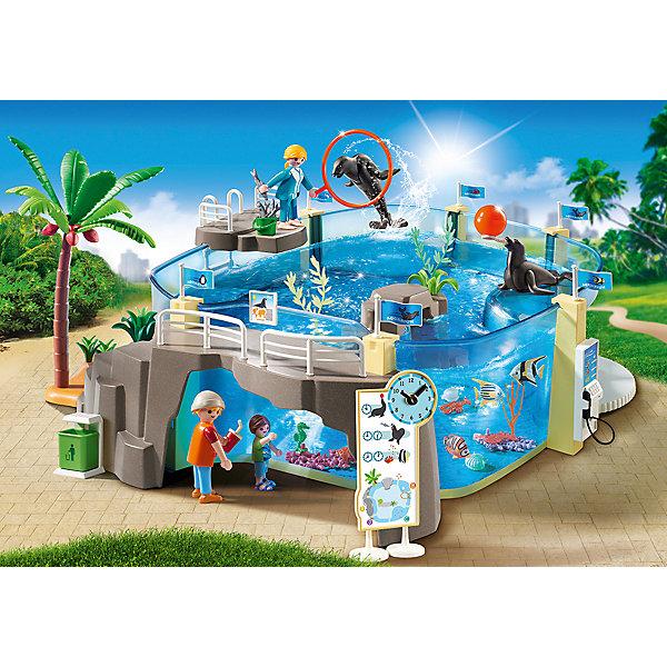 PLAYMOBIL® Конструктор Playmobil Аквариум, 34 детали фигурки игрушки playmobil супер4 принцесса леонора