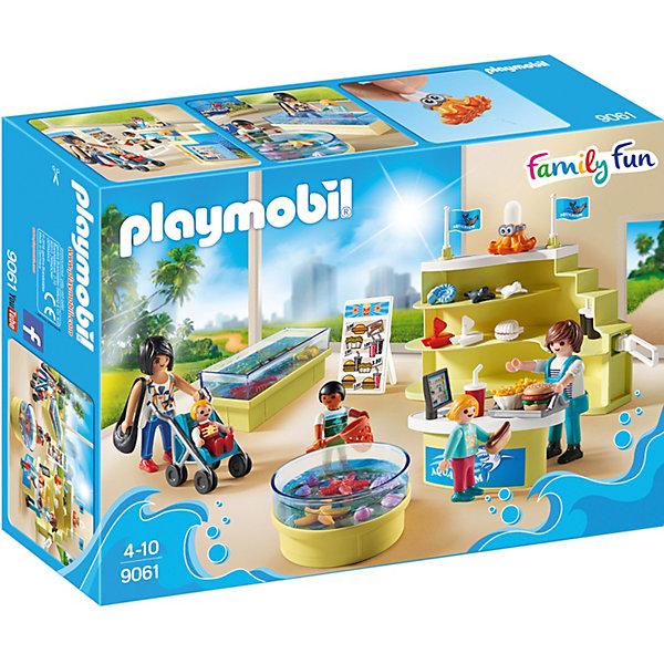 PLAYMOBIL® Конструктор Playmobil Магазин аквариумов, 35 деталей