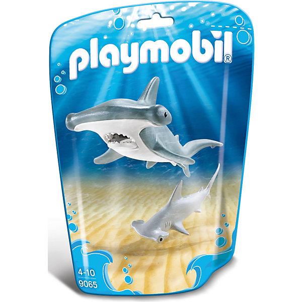 PLAYMOBIL® Игровой набор Playmobil Молотоголовая акула с детенышем, 2 детали