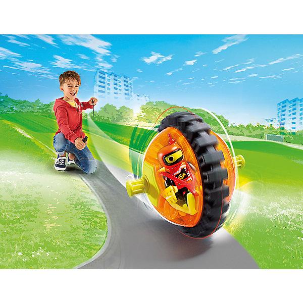 PLAYMOBIL® Конструктор Playmobil Оранжевый гонщик на роликах, 8 деталей