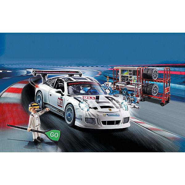 PLAYMOBIL® Конструктор Playmobil Porsche 911 GT3 Cup, 35 деталей конструкторplaymobilзоопарк автомобиль