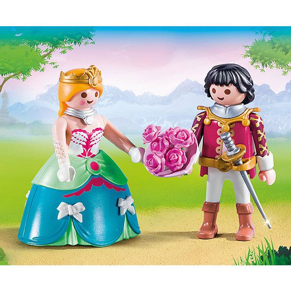 PLAYMOBIL® Конструктор Playmobil Принц и принцесса, 4 детали playmobil игровой набор принцесса леонора