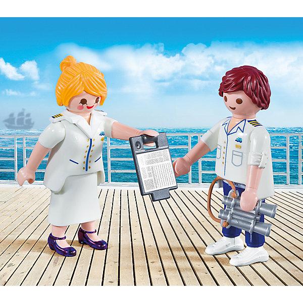 PLAYMOBIL® Конструктор Playmobil Капитан круизного корабля, 4 детали фигурки игрушки playmobil супер4 принцесса леонора