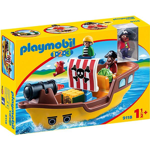 PLAYMOBIL® Конструктор Playmobil Пиратский корабль, 5 деталей игровой набор для ванны tomy пиратский корабль
