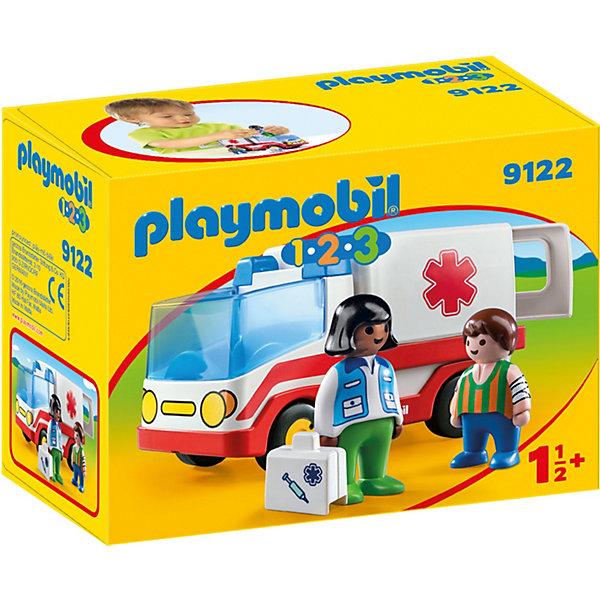 PLAYMOBIL® Конструктор Playmobil Скорая помощь, 4 детали