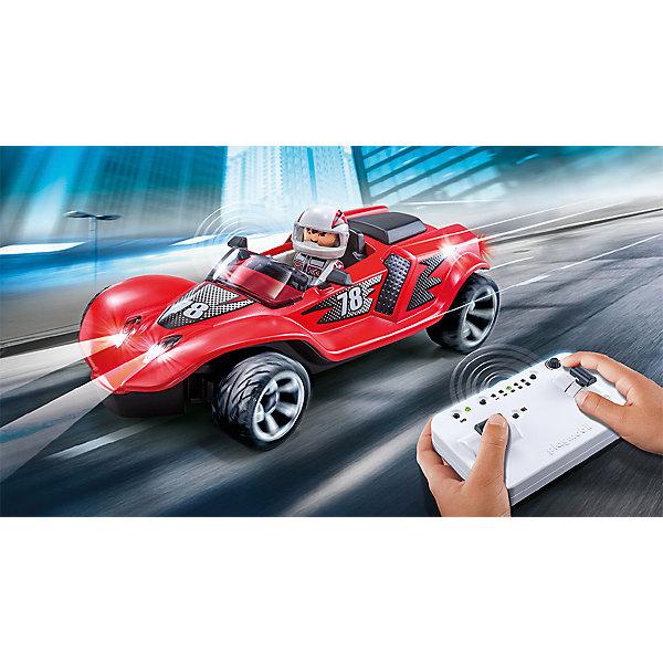PLAYMOBIL® Конструктор Радиоуправляемый ракетный гонщик playmobil игровой набор радиоуправляемый турбо гонщик