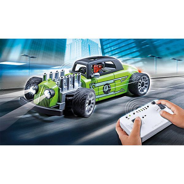 PLAYMOBIL® Конструктор Playmobil Радиоуправляемый внедорожник playmobil спасатели с носилками