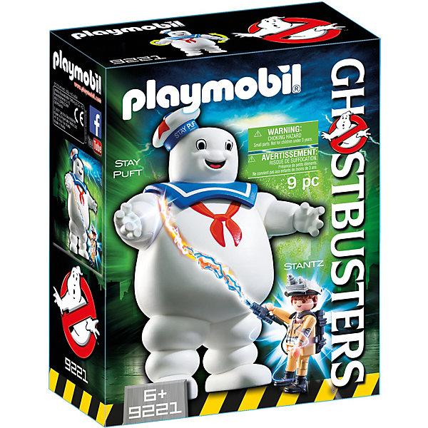 Фото - PLAYMOBIL® Конструктор Playmobil Охотники за привидениями Зефирный человек playmobil игровой набор охотники за привидениями зефирный человек