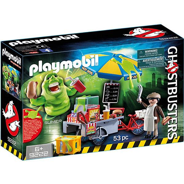 PLAYMOBIL® Конструктор Playmobil Охотники за привидениями Лизун и торговая тележка с хот-догами