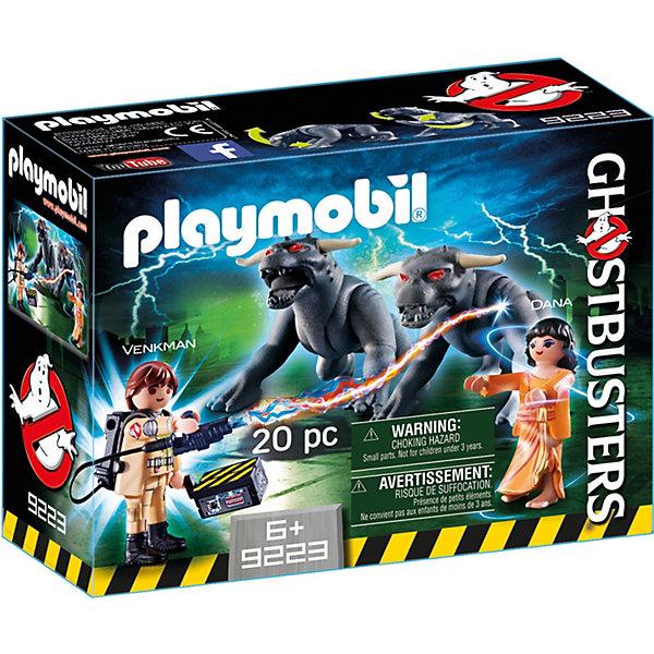 PLAYMOBIL® Конструктор Playmobil Охотники за привидениями Питер Венкман и ужасные собаки