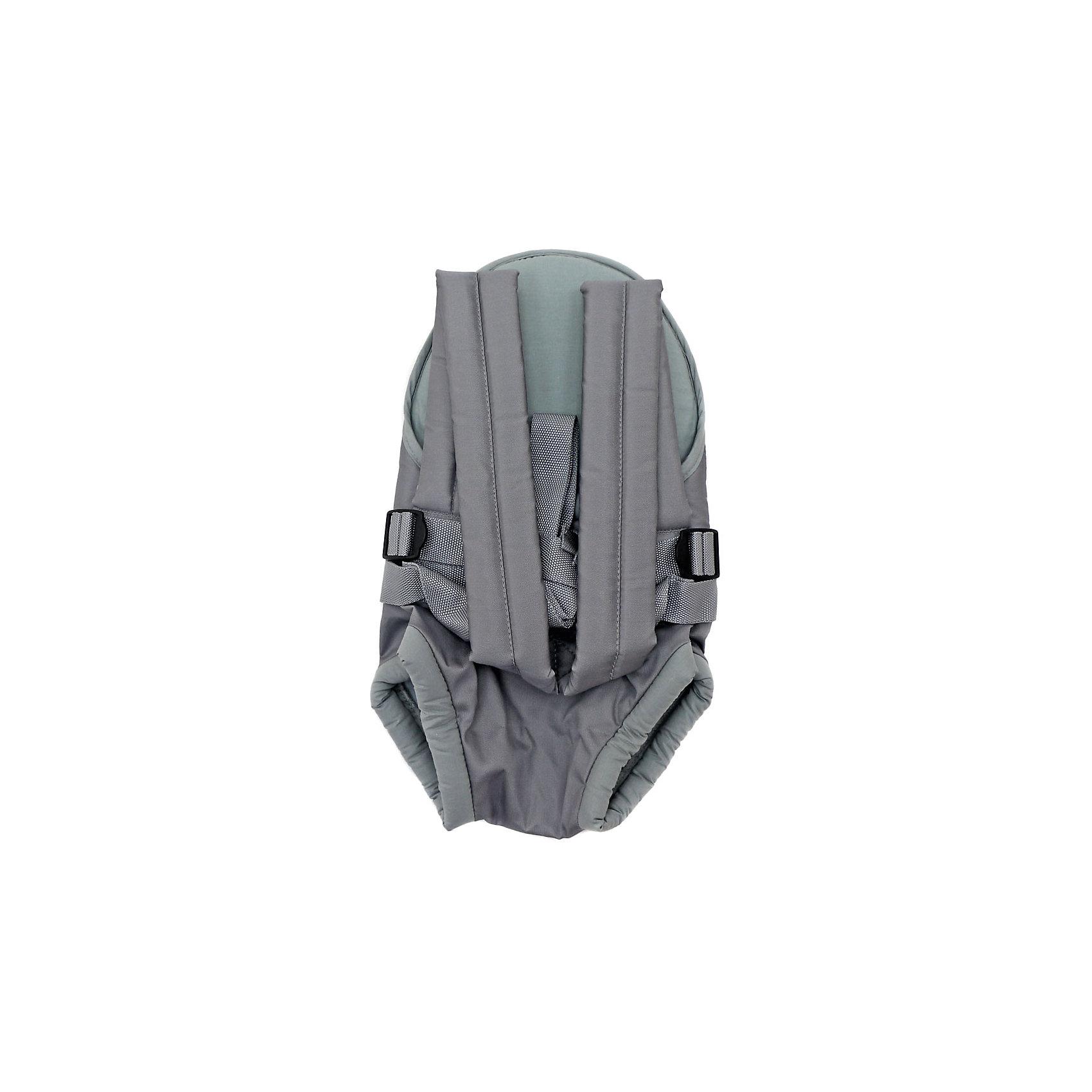Рюкзак-кенгуру Классика, Топотушки, серый
