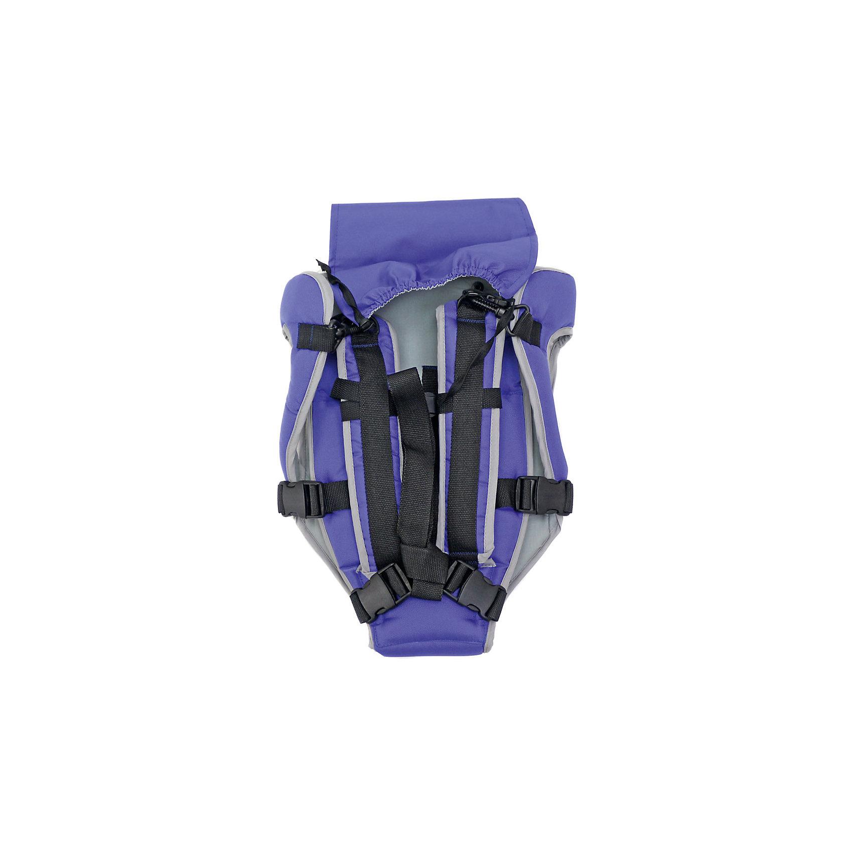 Рюкзак-кенгуру Универсал, Топотушки, фиолетовый