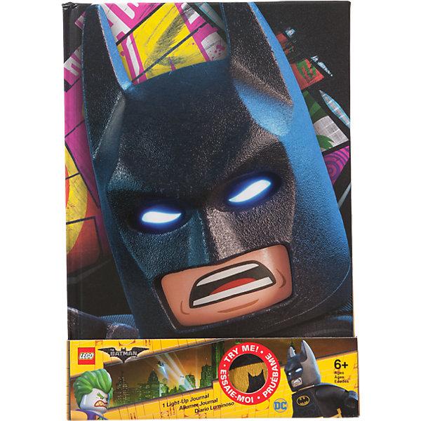LEGO Записная книжка, 80 листов, линейка, LEGO книга для записей lego batman movie с подсветкой 80 листов линейка