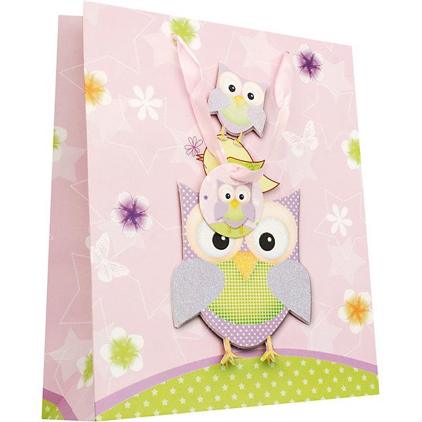 Пакет Сиреневые совыДетские подарочные пакеты<br>Характеристики товара:<br><br>• размер пакета: 18х24х8 см;<br>• материал: картон, текстиль;<br>• толщина бумаги: 210 г/м2;<br>• цвет: сиреневый, желтый;<br>• размер упаковки: 24,5х18х1 см;<br>• страна бренда: Россия.<br><br>Пакет «Сиреневые совы» - незаменимое дополнение к любому подарку. На пакете присутствуют объемные элементы, изображающие семью сов, играющих на небольшой полянке. Для удобства переноски пакет дополнен широкими текстильными лентами. Изделие выполнено из бумаги толщиной 210 г/м2 с качественной печатью.<br><br>Пакет «Сиреневые совы» 18*24*8 см, Белоснежка можно купить в нашем интернет-магазине.<br>Ширина мм: 240; Глубина мм: 180; Высота мм: 80; Вес г: 50; Возраст от месяцев: 72; Возраст до месяцев: 144; Пол: Женский; Возраст: Детский; SKU: 5089603;