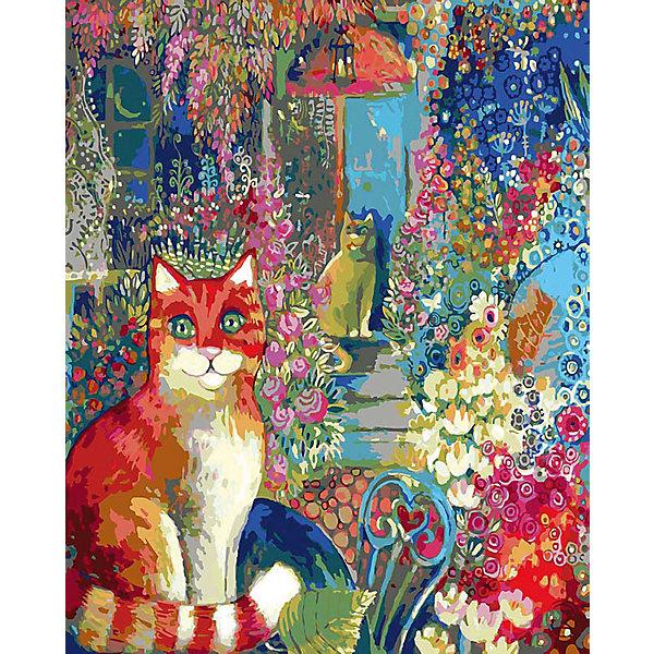 Купить Живопись на холсте В городском саду 40*50 см, Белоснежка, Китай, Унисекс