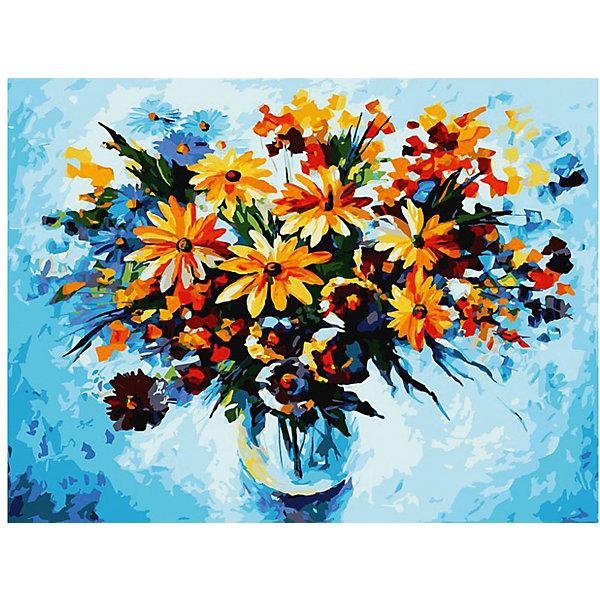 Белоснежка Живопись на картоне 30*40 см Разноцветные ромашки живопись diy digital painting diy 30 40