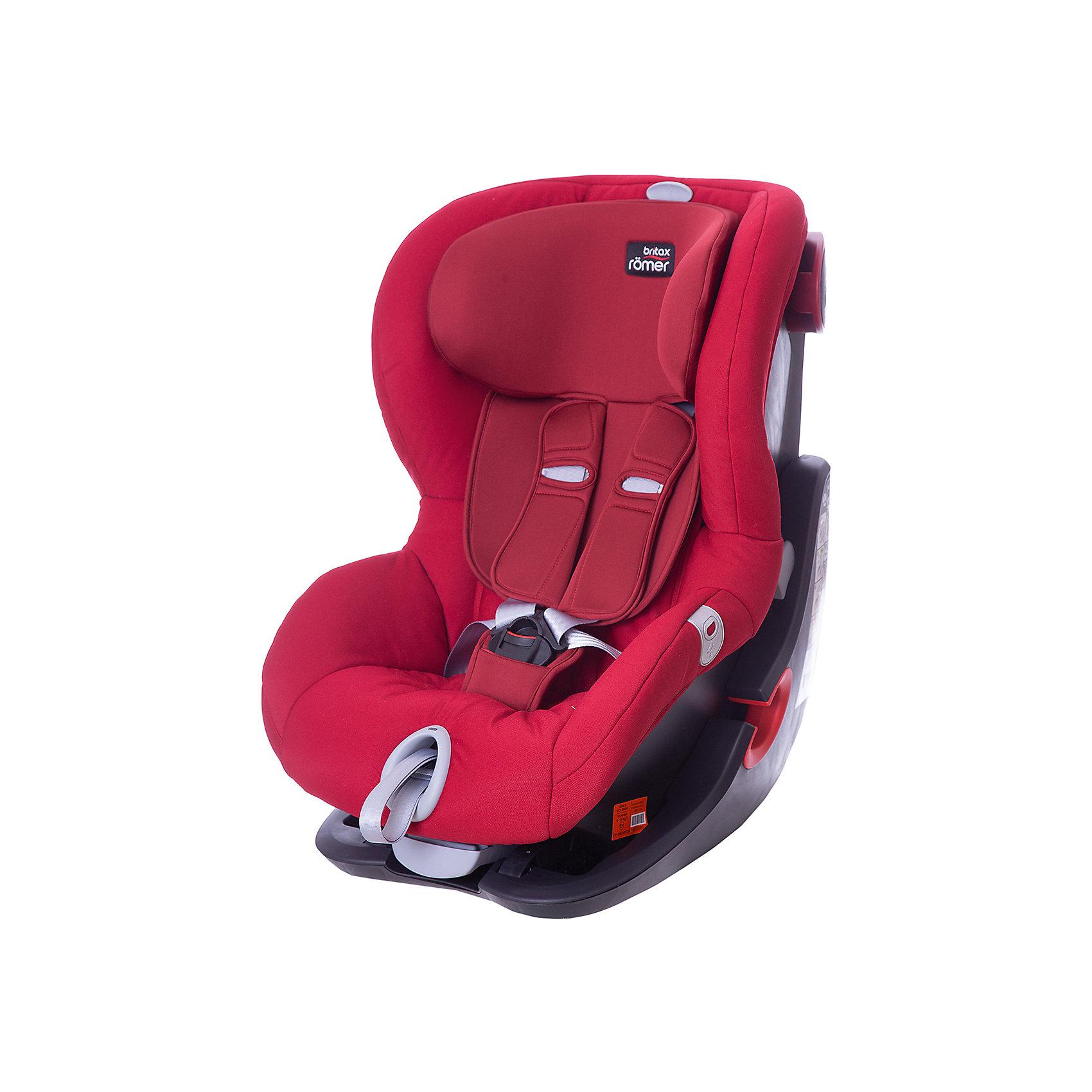 Britax Romer Автокресло Britax Romer King II LS Black Series 9-18 кг, Flame Red Trendline
