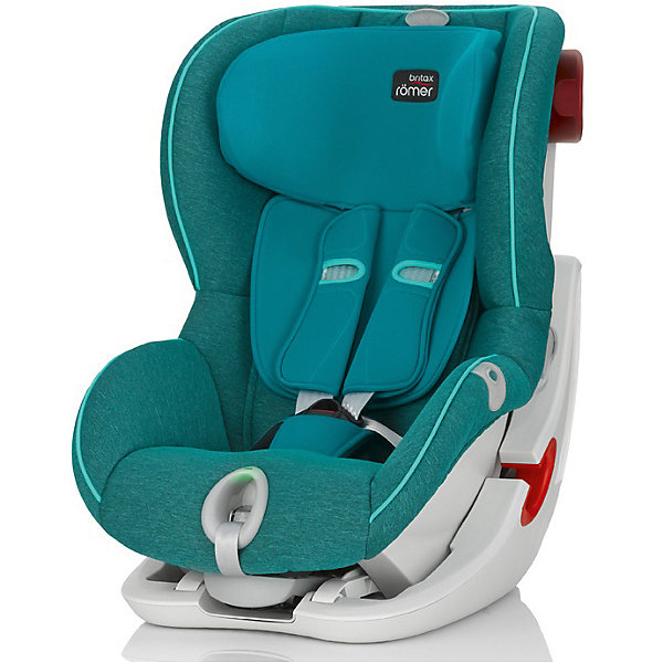 Britax Römer Автокресло Britax Romer King II LS Black Series 9-18 кг, Green Marble Highline автокресло группа 1 9 18кг britax roemer king ii ls black series moonlight blue