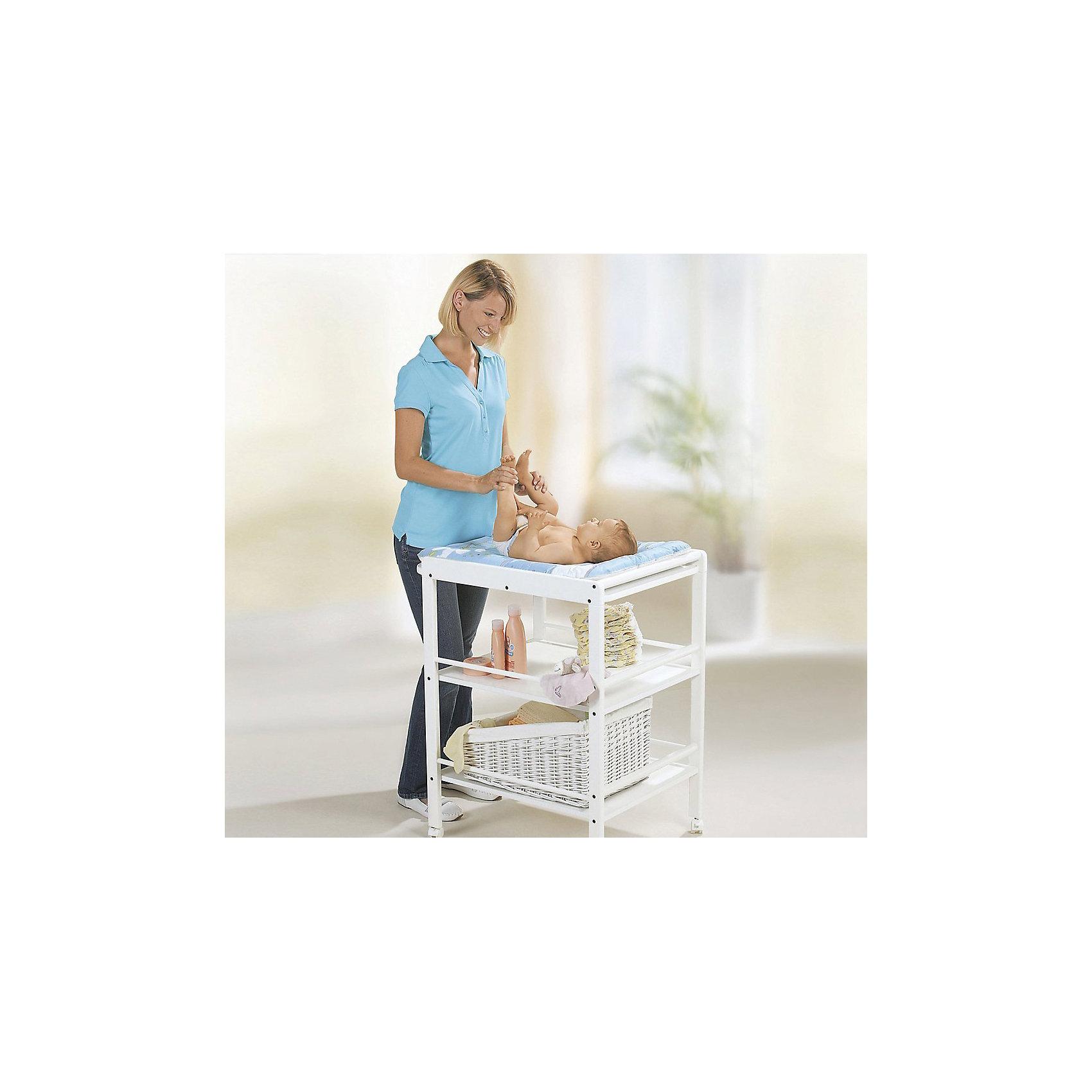 Пеленальный столик CLARISSA, Geuther, белый