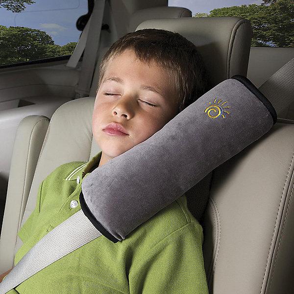 Подушка для путешествий Pillow-Grey, Diono, серыйАксессуары для автокресел<br>Незаменимая вещь в путешествиях - это подушка! Она удобно обхватывает шею ребенка и поддерживает голову. Анатомическая форма. Мягкая накладка из флиса на автомобильные ремни безопасности для комфортного сна.<br><br>Дополнительная информация:<br><br>- Возраст: от 3 лет.<br>- Материал: микрофлис.<br>- Цвет: серый.<br>- Размер подушки: 20x20x10 см.<br>- Вес: 200 г.<br><br>Купить подушку для путешествий Pillow-Grey в сером цвете, можно в нашем магазине.<br>Ширина мм: 93; Глубина мм: 93; Высота мм: 305; Вес г: 180; Возраст от месяцев: 36; Возраст до месяцев: 144; Пол: Унисекс; Возраст: Детский; SKU: 5093563;