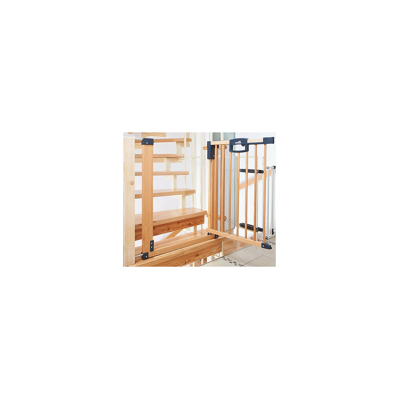 Барьеры-ворота Easy Lock Natural 80,5*88,5*82,5см, Geuther