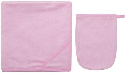 Italbaby Махровое полотенце 100/100, Italbaby, розовый матрасы italbaby baby massage 125х63 см