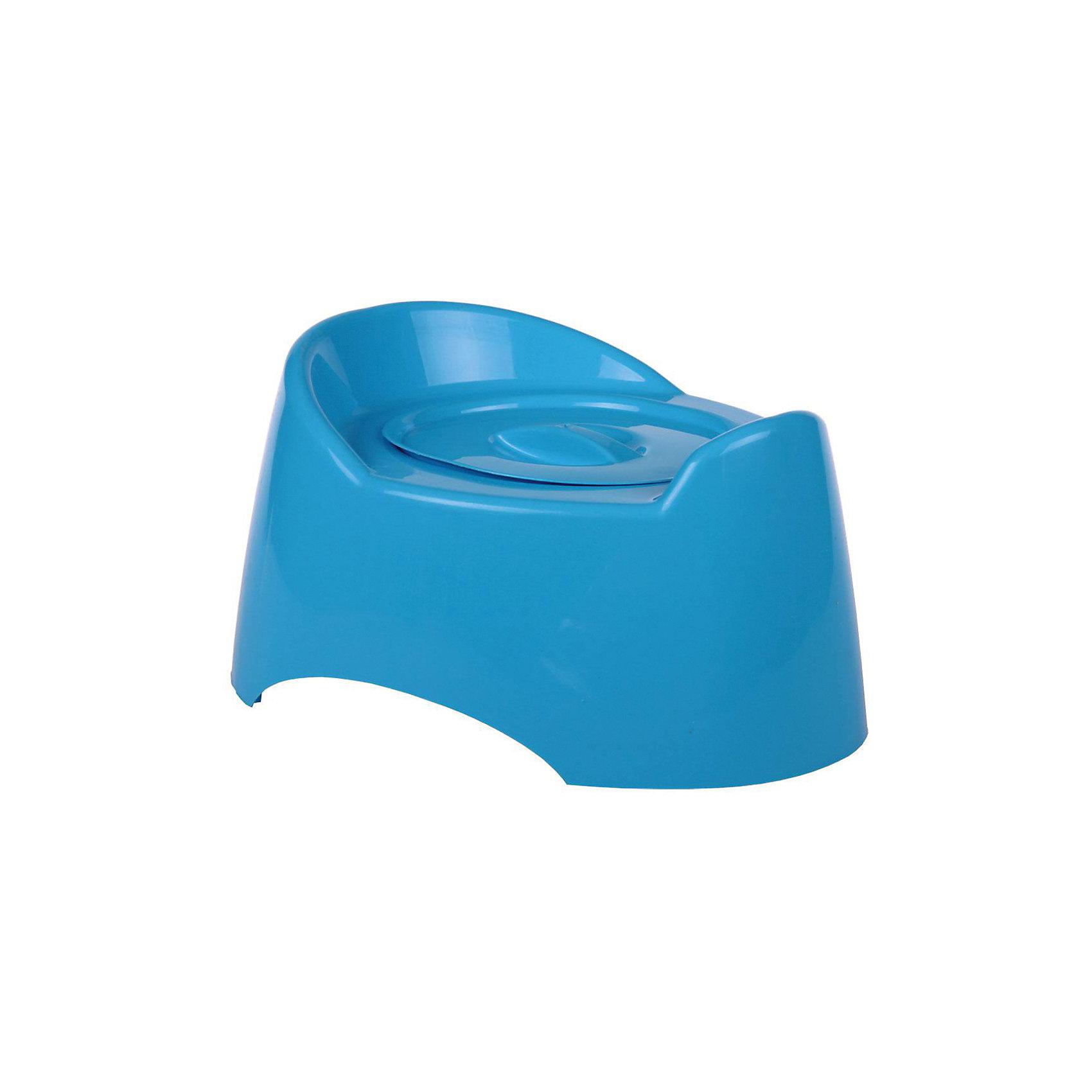 Горшок туалетный Малышок с крыш., Alternativa, голубой