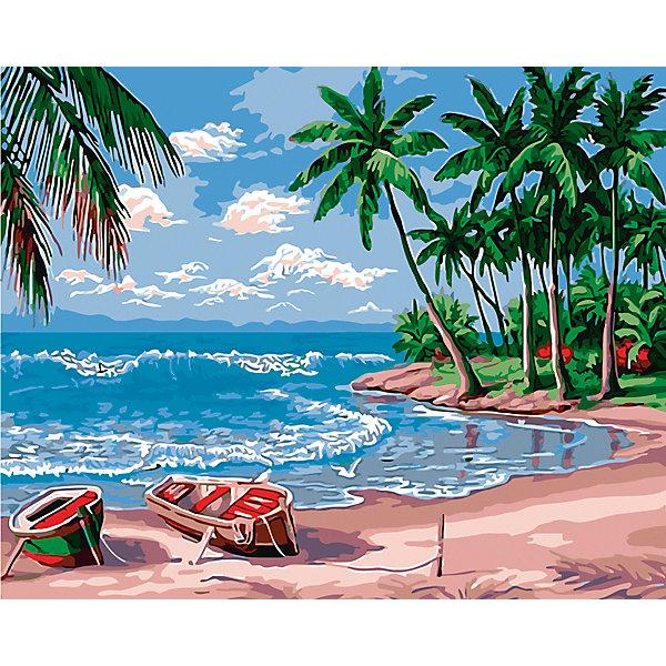 Холст с красками по номерам Райский остров 40х50 смКартины по номерам<br>замечательные наборы для создания уникального шедевра изобразительного искусства. Создание картин на специально подготовленной рабочей поверхности – это уникальная техника, позволяющая делать Ваши шедевры более яркими и реалистичными. Просто нанесите мазки на уже готовый эскиз и оживите картину! Готовые изделия могут стать украшением интерьера или прекрасным подарком близким и друзьям.<br>Ширина мм: 510; Глубина мм: 410; Высота мм: 25; Вес г: 900; Возраст от месяцев: 36; Возраст до месяцев: 108; Пол: Унисекс; Возраст: Детский; SKU: 5096782;