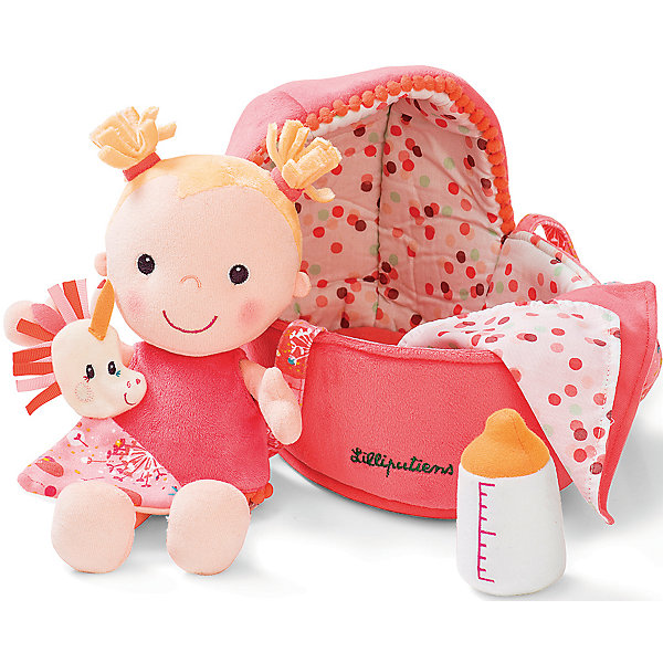Lilliputiens Мягкая кукла в переноске
