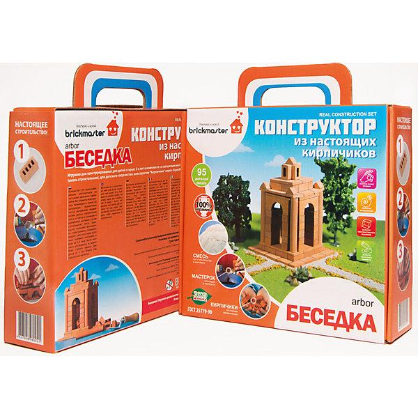 BRICKMASTER Конструктор Беседка, 95 деталей, BRICKMASTER brickmaster brickmaster конструктор крепость 2 в 1 119 деталей page 2