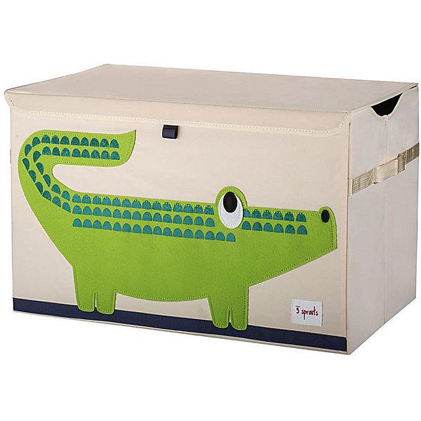 3 Sprouts Сундук для хранения игрушек 3 Sprouts Крокодил