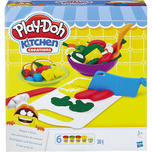 Hasbro Игровой набор Приготовь и нарежь на дольки, Play-Doh hasbro play doh b3416 игровой набор пожарная машина