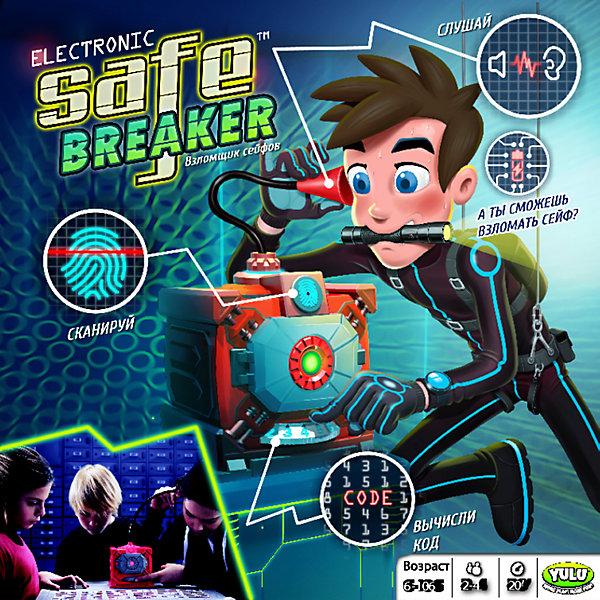 Настольная игра Взломщик Сейфов, Safe BreakerСтратегические настольные игры<br>Характеристики:<br><br>• возраст: от 6 лет;<br>• количество игроков: 2-4;<br>• время игры: 20 минут;<br>• в наборе: сейф, шпионский стетоскоп, 18 игровых карт, 15 монет, 3 стикера с изображением бриллиантов, 1 стикер тревоги, инструкция;<br>• тип батареек: 3хАА;<br>• наличие батареек: не в комплекте;<br>• вес упаковки: 800 гр.;<br>• размер упаковки: 27х11х26,5 см;<br>• страна бренда: Китай.<br><br>В настольной игре Yulu «Взломщик Сейфов» побеждает тот, кто сможет вскрыть сейф и первым собрать 5 золотых монет и 2 монеты с бриллиантом. Сделать это будет не так просто, но очень увлекательно!<br><br>Каждый игрок по очереди открывает карту с кодом и прокручивает колесо сейфа столько раз, сколько обозначено на карточке. Затем игрок прикладывает палец к сканеру. В случае, если сейф остался заперт, нужно вычислять звуковые подсказки с помощью стетоскопа. В игре 3 уровня сложности, в самом сложном из которых участники не используют карты.<br><br>Настольную игру «Взломщик Сейфов», Safe Breaker можно купить в нашем интернет-магазине.<br>Ширина мм: 110; Глубина мм: 265; Высота мм: 270; Вес г: 783; Возраст от месяцев: 72; Возраст до месяцев: 2147483647; Пол: Унисекс; Возраст: Детский; SKU: 5100197;