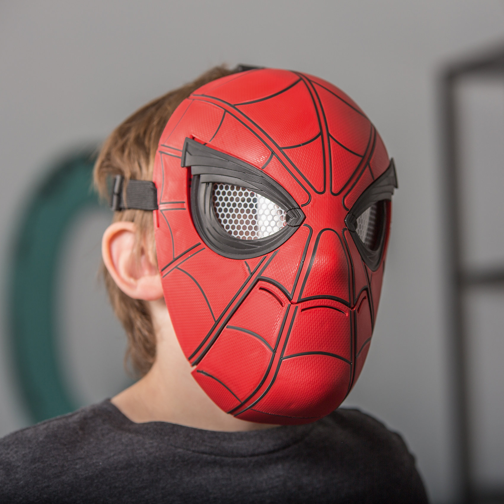 spiderman half mask